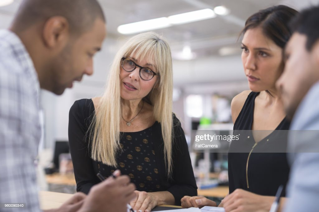 Business-Strategie-Meeting : Stock-Foto