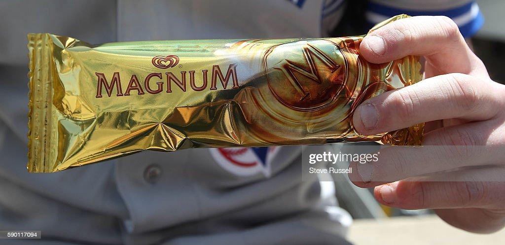 Magnum Ice Cream : News Photo