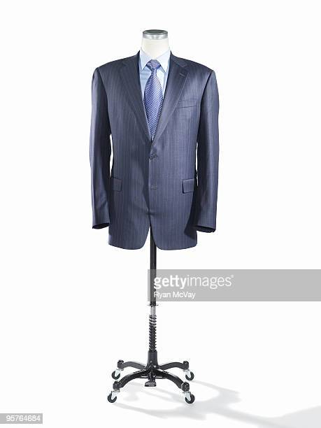 Business suit on a tailor's mannequin