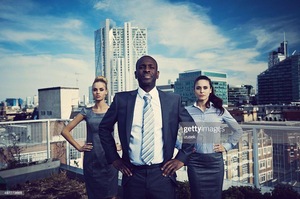 Business Superheroes : Stock Photo