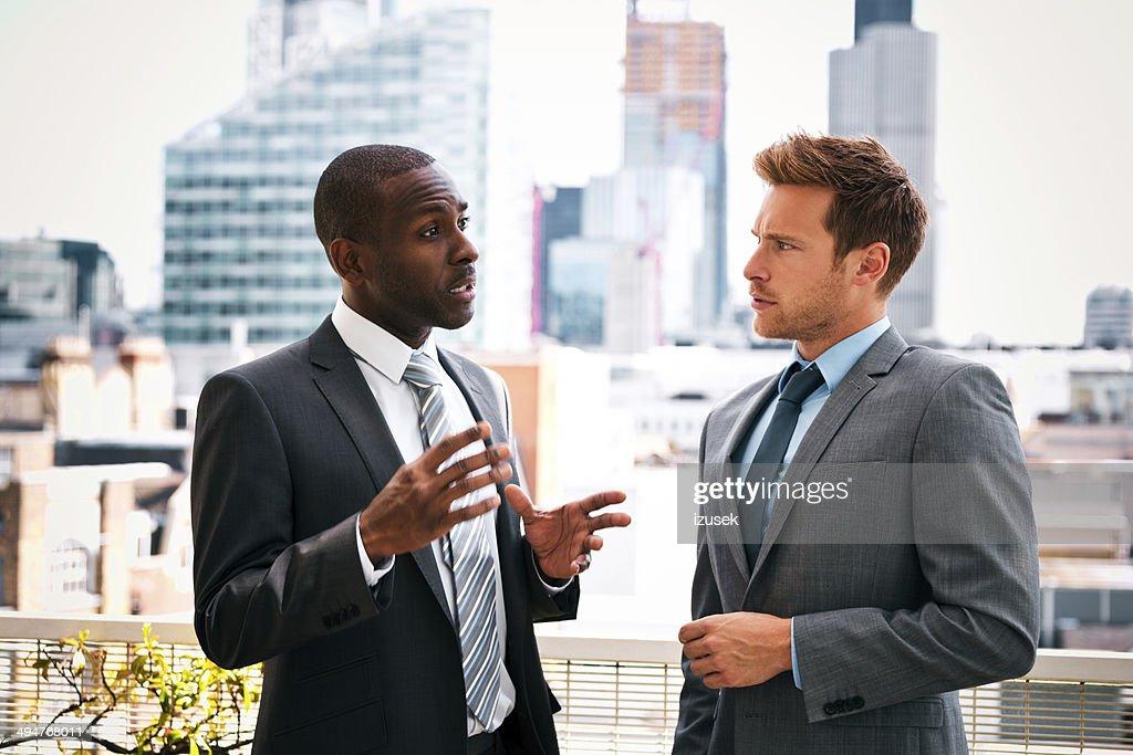 Business talk : Stock Photo