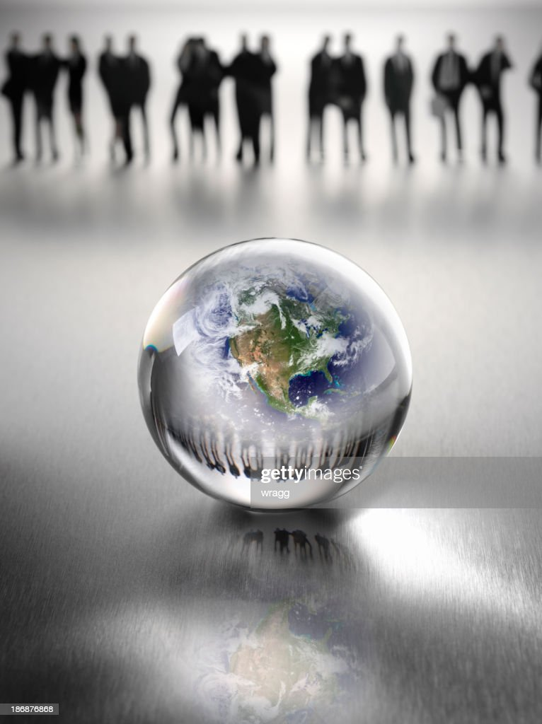 Business Team Around the World : Stock Photo