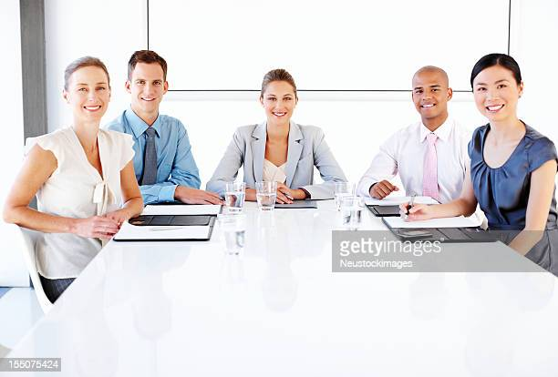 Business Team at a Conference Table