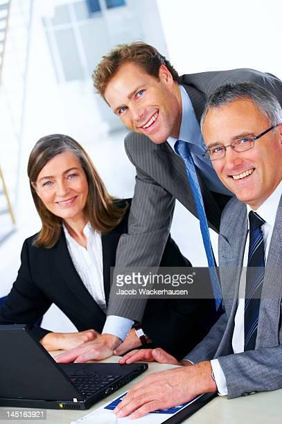 Business-team in einer Sitzung