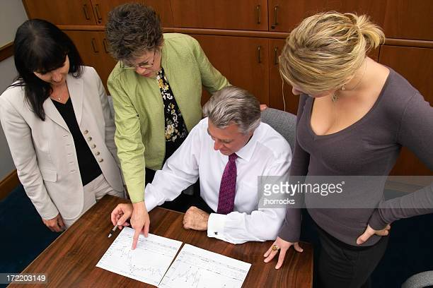Business Team Huddle