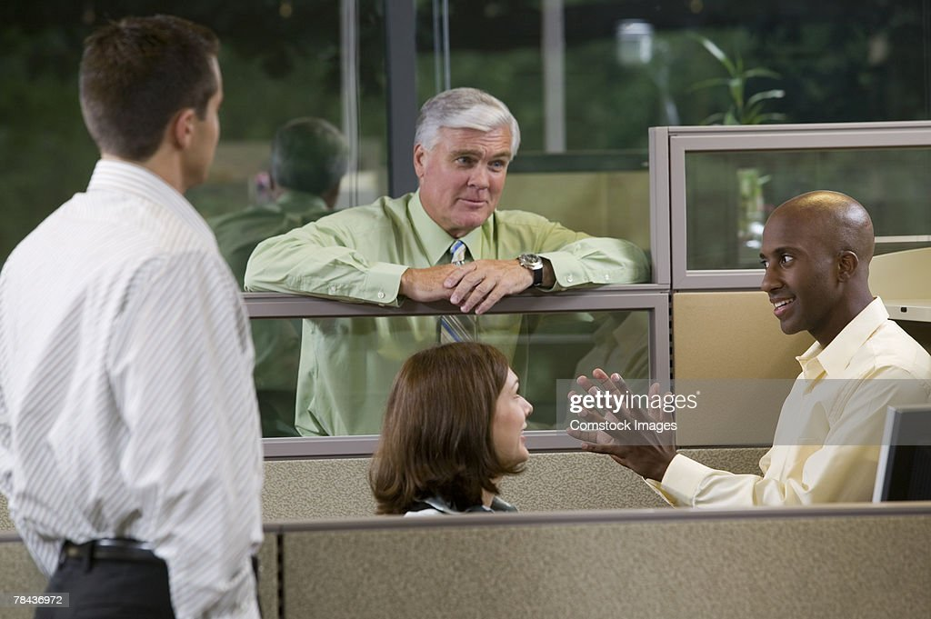 Business team in a meeting : Stockfoto