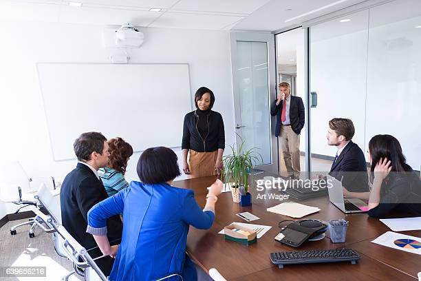 Business Team in Corporate Meeting