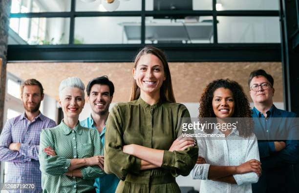 business-teamleiter. - chef stock-fotos und bilder