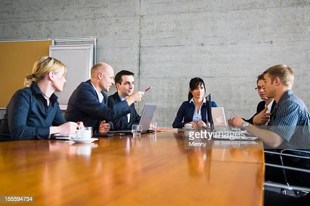 Reunião da Equipe de Negócios