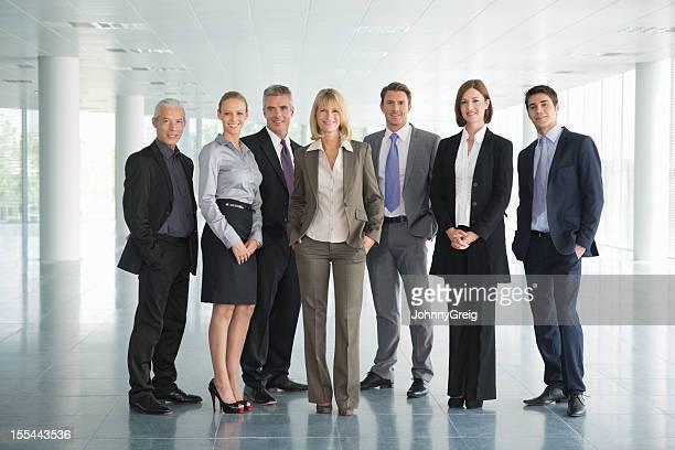 Équipe d'affaires
