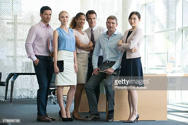 Business team, portrait