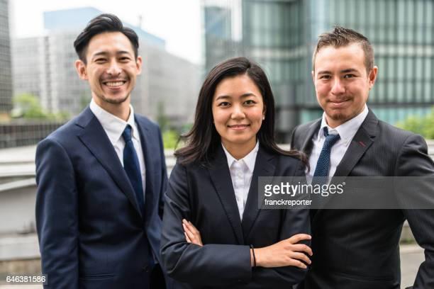 Retrato de equipo de negocios