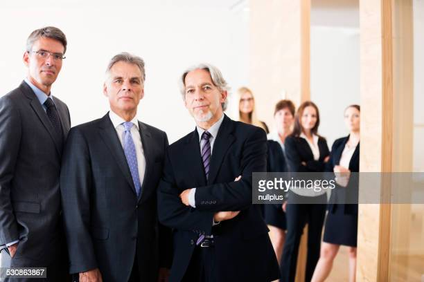 business team posieren für eine Gruppe von