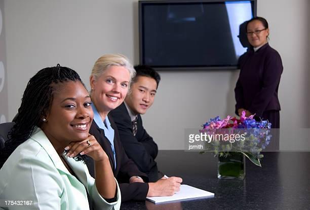 Business-Team-Präsentationen