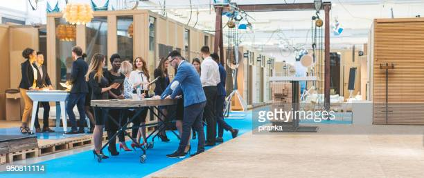 business team working - event stock pictures, royalty-free photos & images