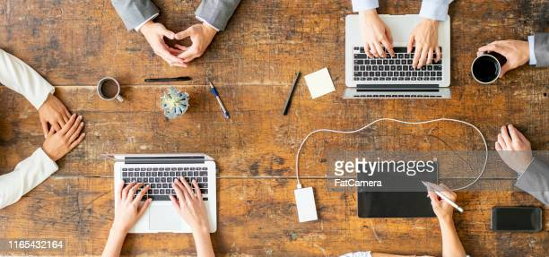 business team working together - the americas stock pictures, royalty-free photos & images