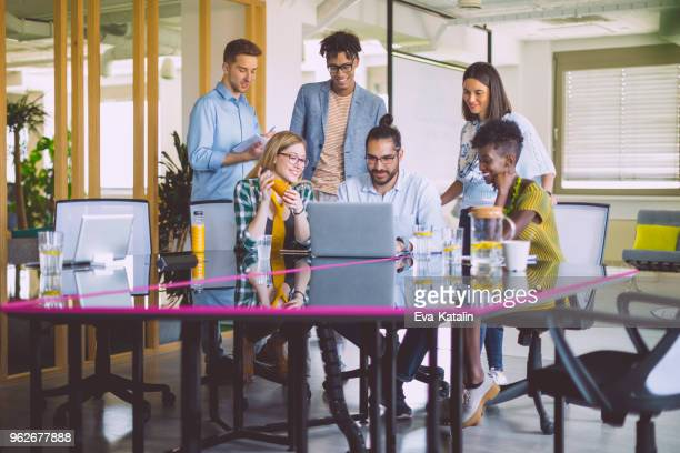 business team working together - flexibility stock pictures, royalty-free photos & images