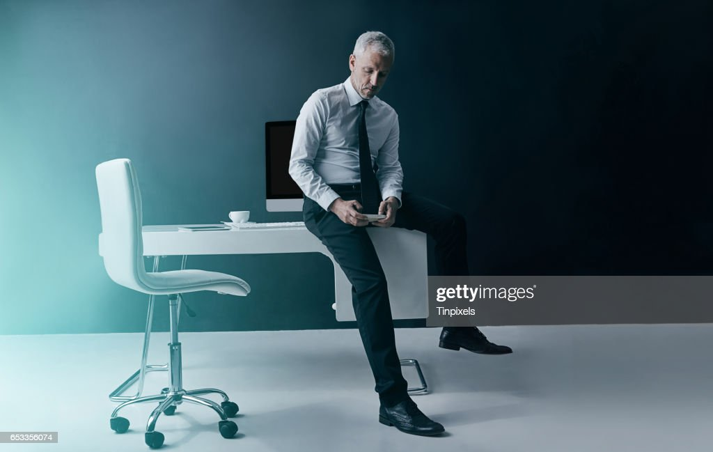 Business time, anytime : Stock Photo
