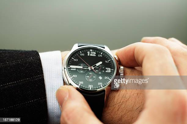 business time - wrist watch stock pictures, royalty-free photos & images
