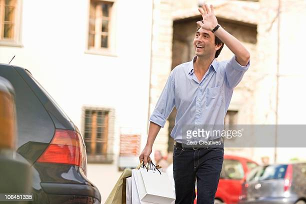 business toscana - waving gesture stock photos and pictures