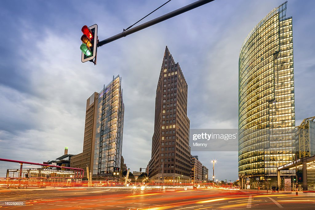 Business Towers in Berlin : Stock-Foto