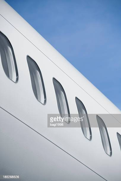 business travel - fuselage stock photos and pictures
