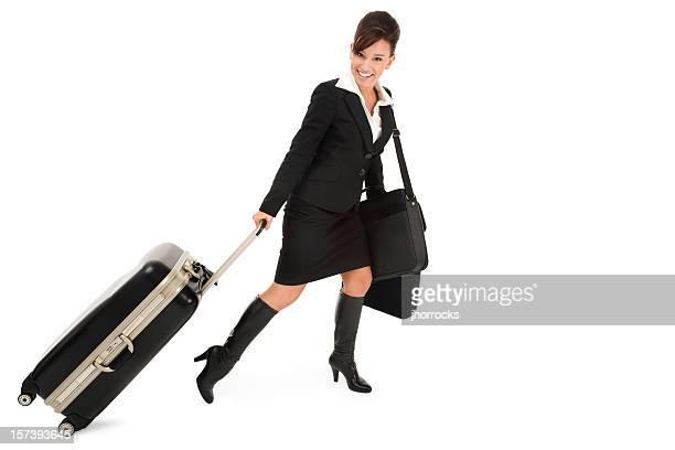 Business Traveler on The Go