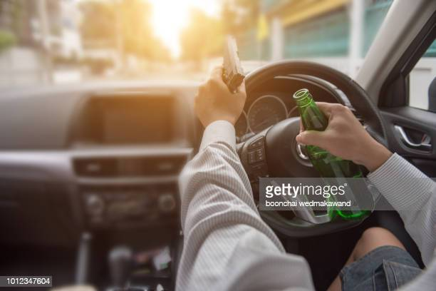 business travelers are going to drive back home after celebrating a party, get drunk. - hangover after party stock pictures, royalty-free photos & images