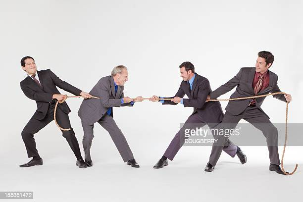 Business Tug Of War