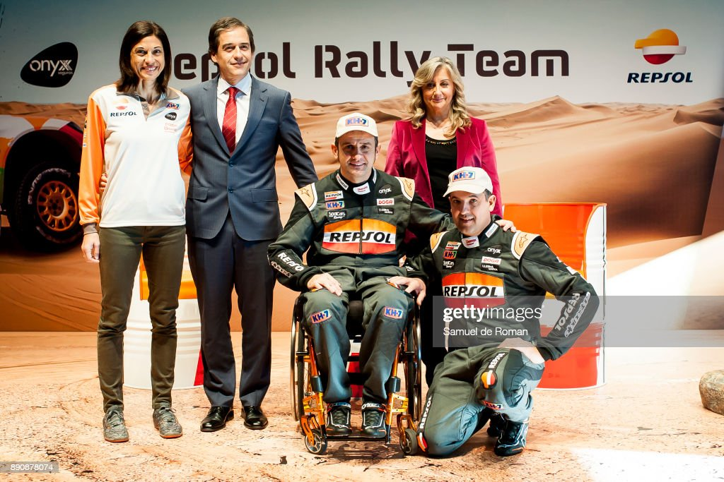 Dakar 2018 Repsol Rally Team Presentation With Isidre Esteve