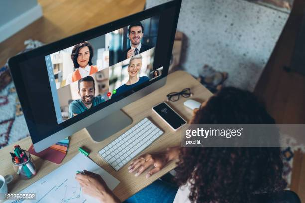 business web communication - small group of people stock pictures, royalty-free photos & images