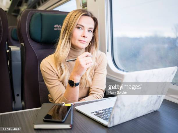 Business woman and CEO at Opus Talent Solutions Amy Golding is photographed on February 5 2019 for the Times in London England