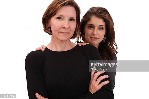 Business Woman and Daughter