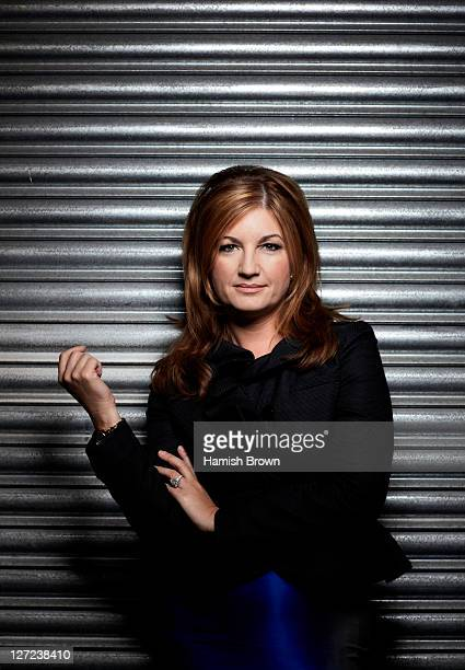 Business woman and tv presenter Karren Brady is photographed for ES magazine on March 31 2011 in London England
