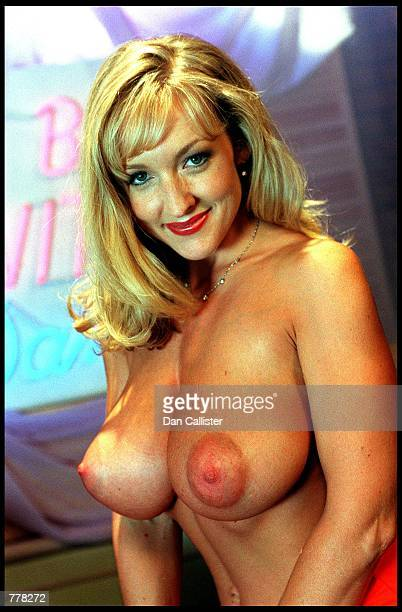 Business woman Danni Ashe August 30 2000 who owns Danni Hard Drive and is the host of most downloaded internet show In bed with Danni on the set in...