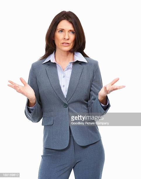 ビジネス女性 explaning