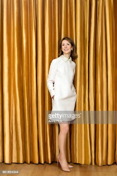 Business woman Helena Morrissey is photographed for the Sunday Times magazine on December 14 2017 in London England