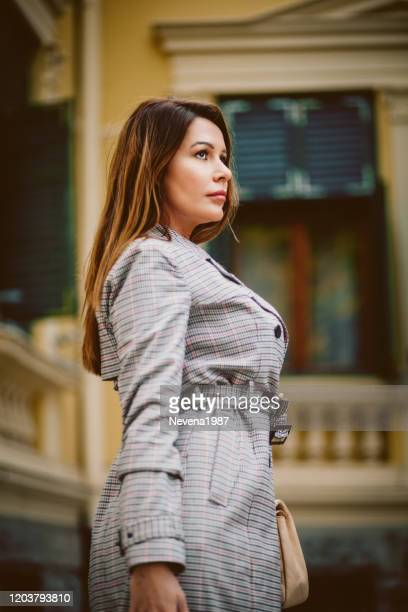 business woman in smart office outfit - belt stock pictures, royalty-free photos & images
