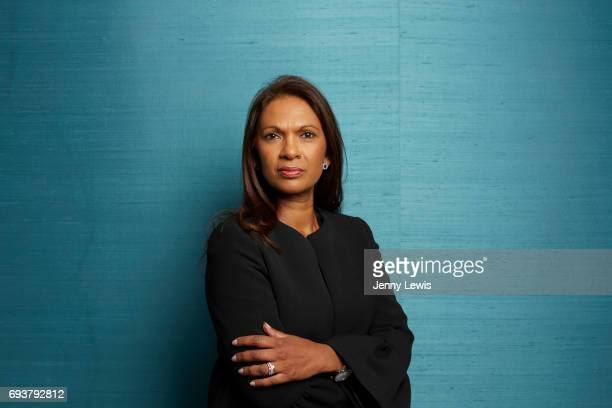 Business woman philanthropist and proEU remainer Gina Miller is photographed for Grazia on May 9 2017 in London England