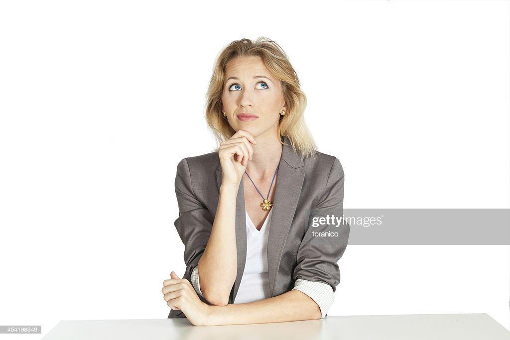 Mujer de negocios : Foto de stock