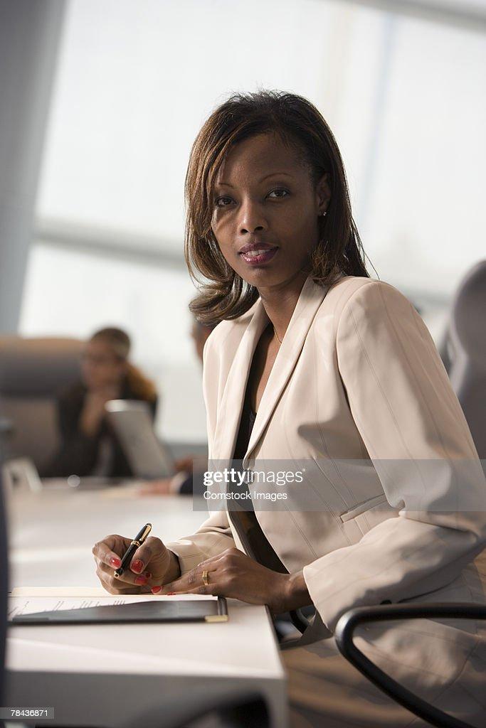 Business woman : Stockfoto