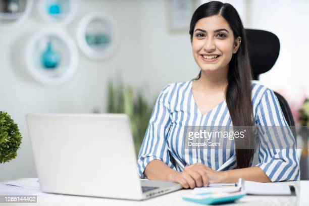 business woman - stock photo - india stock pictures, royalty-free photos & images