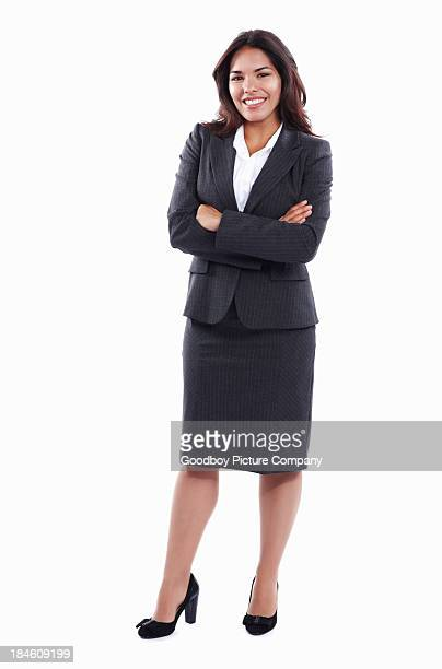 Business woman with confidence