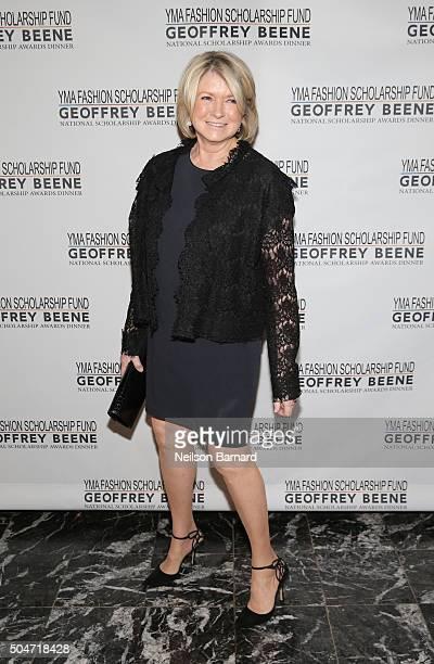 Business Woman Writer TV Personality Martha Stewart attends YMA Fashion Scholarship Fund Geoffrey Beene National Scholarship Awards Gala at Marriott...