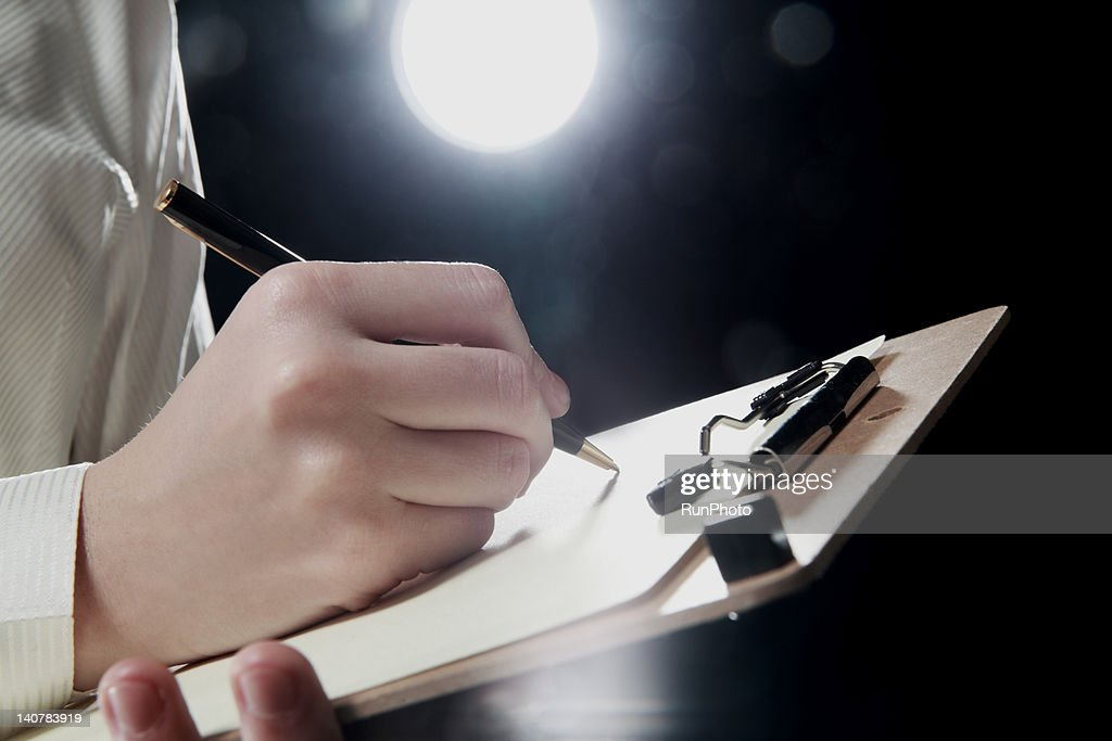 business woman,hands close-up : Stock Photo