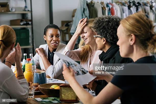 Business women having Business meeting