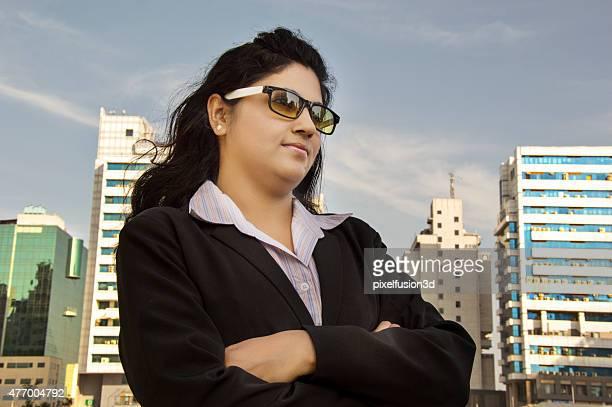 独立したビジネス女性のポートレート