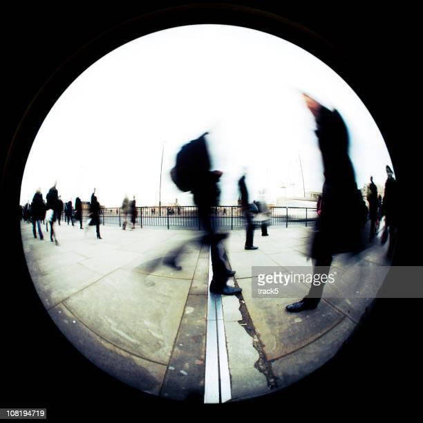 mondo del business - fish eye foto e immagini stock