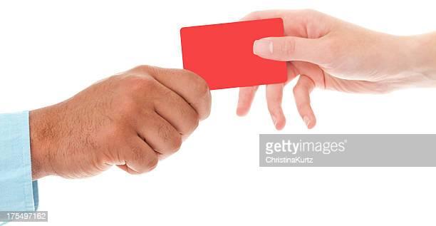 Les voyageurs d'affaires et de change par carte de crédit