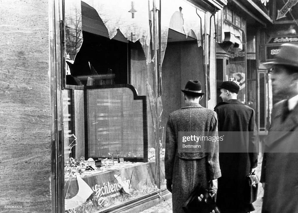 Businesses and properties owned by Jews were the target of vicious Nazi mobs during a night of vandalism that is known as 'Kristallnacht'.